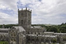Free St. David S Cathedral Royalty Free Stock Photo - 25553105