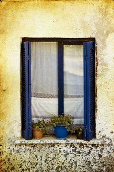 Free Old Window Stock Photography - 25553282