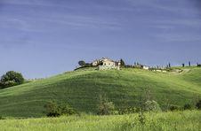 Tuscan Farm Royalty Free Stock Photos