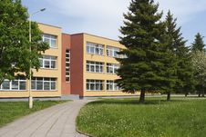 Free School Building Stock Images - 25558144