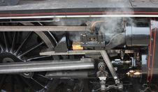Free Steam Locomotive. Royalty Free Stock Photo - 25558515