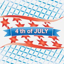 Free 4th Of July American.vector Royalty Free Stock Image - 25559976