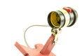 Free Lamp Socket Royalty Free Stock Photos - 25564658