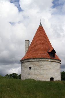 Free Kuressaare Episcopal Castle Tower Royalty Free Stock Images - 25564439