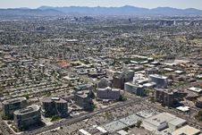 Free Skyline Of Phoenix, Arizona Stock Photo - 25567630
