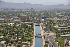 Free Canal View Of Scottsdale Stock Photography - 25567662