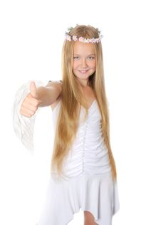Free Happy Angel Stock Images - 25568154
