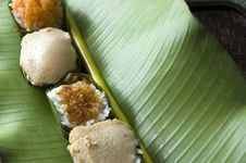 Free Sweet Sticky Rice On Green Stock Photo - 25569920