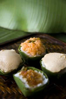 Free Sweet Sticky Rice With Topping Stock Image - 25569931