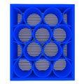 Free Empty Blue Shelves Rounded Royalty Free Stock Photo - 25570295