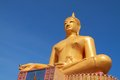 Free Big Golden Buddha Statue Royalty Free Stock Photos - 25578558