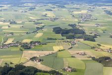 Free Bavaria Air View Royalty Free Stock Photos - 25574998