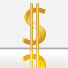 Free Abstract Dollar Sign Stock Photos - 25576223