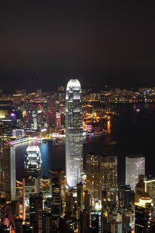 Free Hong Kong Night View Stock Images - 25577304