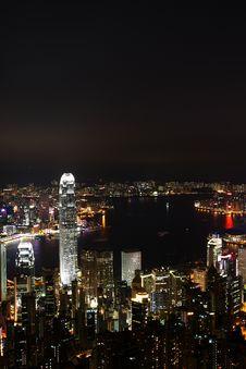 Free Hong Kong Night View Stock Images - 25577314