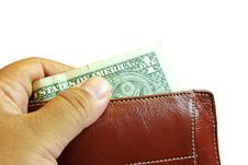 Free Money In Wallet Stock Image - 25577451