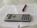 Free Scientific Calculator Stock Image - 25584511