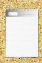 Free Diary With Striped Paper Royalty Free Stock Images - 25588779