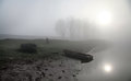 Free Misty Morning On The River Dniester. Stock Photography - 25589832