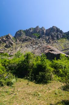 Free Mountain Plateau, Crimea, Ukraine Stock Photos - 25580283