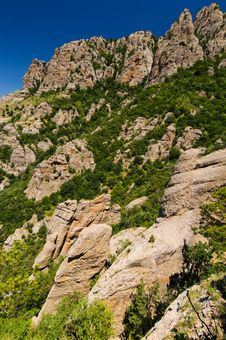 Free Rocks, Crimea, Ukraine Royalty Free Stock Image - 25580326