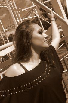 Free Woman Portrait Stock Image - 25582071