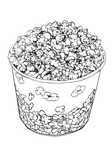 Free Popcorn Stock Image - 25582301