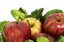 Free Apple Fruit And Salad Stock Images - 25584604