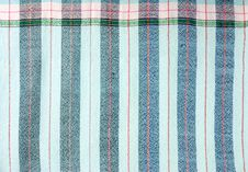 Free Blue Stripe Fabric Texture Royalty Free Stock Images - 25591109
