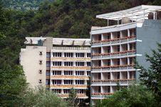Free Herculane Old Hotel Royalty Free Stock Photography - 25591647