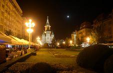 Timisoara Cathedral Square Stock Image
