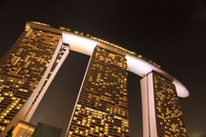 Free Marina Bay Sands Singapore Stock Photography - 25593762