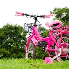 Free Pink Bicycle Royalty Free Stock Image - 25594076