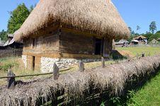 Free Wooden Village Transylvania Stock Image - 25595681