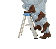 Free Boots Climb A Ladder Stock Images - 25597614