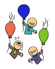 Balloon Success Royalty Free Stock Photo