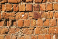 Free Old Red Brick Wall Royalty Free Stock Photography - 2566207