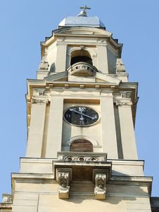 Free Church Tower Royalty Free Stock Image - 2560086