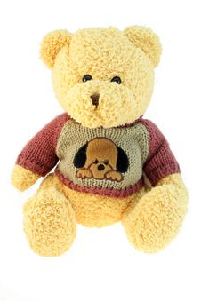 Free Christmas Brown Bear Stock Photos - 2561393