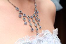 Free Bride`s Necklace Royalty Free Stock Images - 2561449