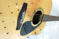Free Noteworthy Guitar Stock Photos - 2562393