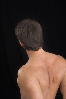 Free Close Up Of A Young Man Back Stock Photos - 2562843