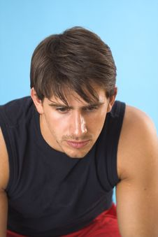Free Portrait Of A Young Man Stock Image - 2562911