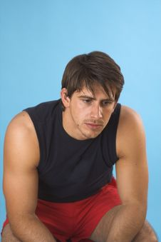 Free Portrait Of A Young Man Royalty Free Stock Photos - 2562918