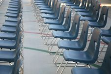 Free Row Of Chairs 2 Royalty Free Stock Image - 2564506