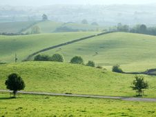 Free Rolling Farmland Near Kendal Stock Photos - 2566473