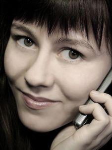 Free Portrait Calling Stock Photo - 2567490