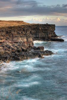 Free HDR Photo Of Hawaiian Coastlin Royalty Free Stock Photos - 2567708