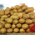 Free Fresh Potatoes In Market Royalty Free Stock Image - 25600436