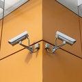 Free Surveillance Cameras Stock Photography - 25602522